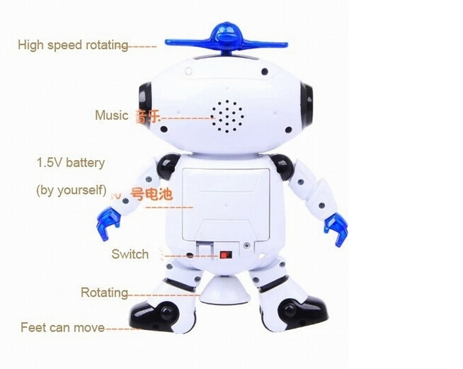New robot dancing music electronic toys rotate 360 stunt walking new robot dancing music electronic toys rotate 360 stunt walking dancing robot with music light gift for kids robot toy in electronic pets from toys solutioingenieria Image collections