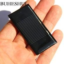 BUHESHUI Wholesale Mini 0.15W 0.5V  Solar Panel Solar Cell DIY Solar Toy Panel Moudle Eduction Kits 60*30MM 200pcsFree Shipping