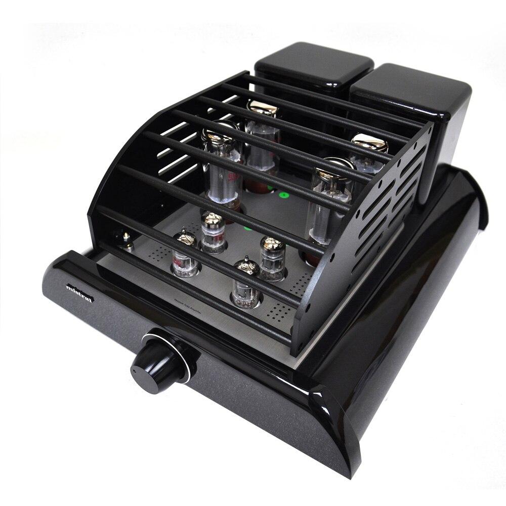 Mistral MT-34 40Wx2 EL34x4 + 12AU7x2 + 12AX7x2 vakuumska integrirana - Kućni audio i video - Foto 4