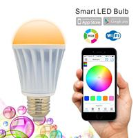 WiFi Smart LED Light Lamp Bulb E27 Multicolored Color Changing RGB Homekit Compatible with Alexa,Google Home Assistant IFTTT