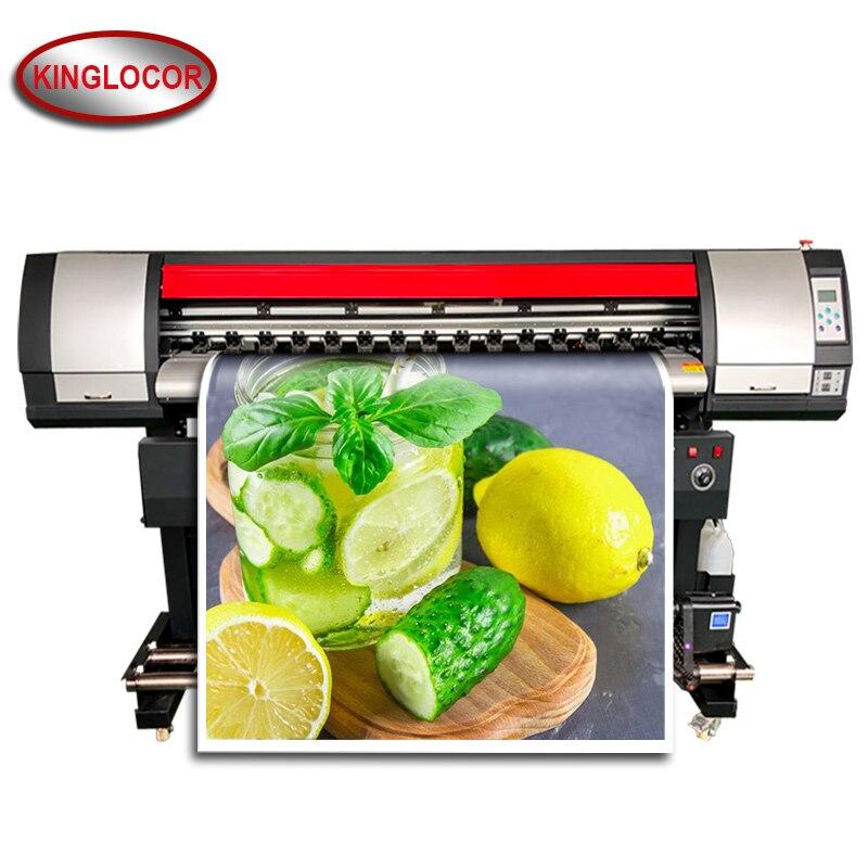 6 Feet Eco Solvent Printer 1800mm Large Format Printer 1.8m Vinyl Printing Machine Single XP600 Print Head