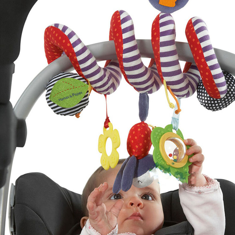 New Hot Sale Kids Baby Infant Toddler Spiral Bed & Stroller Toys Set Pram Hanging Toys Newborn Boys&Girls Gift