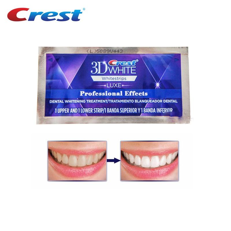 3D Whitestrips Luxe Professionele Effecten Mondhygiëne Teeth Whitening Dental Care Behandeling Originele Wit Strips-in Gebit bleken van Schoonheid op  Groep 2