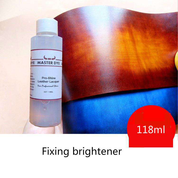 118ml Leather Fixative Brightener Anti Staining Emulsion Antifouling And Waterproof