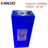 CE ROHS качество 18000 мАч выход 12 В 5A, 2 выходной разъем DC 12 В литиевых батарей, умной силы камеры видеонаблюдения батареи Бесплатная доставка EMS