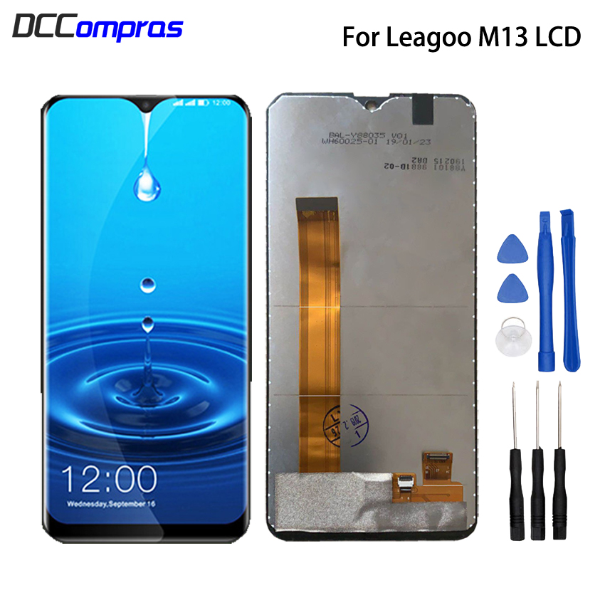 Original For Leagoo M13 LCD Display Touch Screen Replacement Phone Parts For Leagoo M13 Screen LCD Digitizer Display Free ToolsOriginal For Leagoo M13 LCD Display Touch Screen Replacement Phone Parts For Leagoo M13 Screen LCD Digitizer Display Free Tools