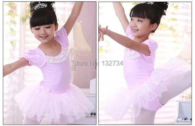 Robe de danse pour enfants Ballet Latin Rumba Samba Robe Jupes Dancewear Filles Enfants 3-15 ans 8-9 ans 130 , Orange