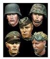 Resina Kits 1:35 soldados resina com Transform cabeça peças frete grátis