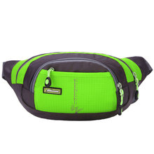 7 Color Waist Bags Waterproof Nylon Waist Packs Casual Messenger Waist Bag Fanny Pack Unisex Belt Bag For Banana Drop Shipping(China)