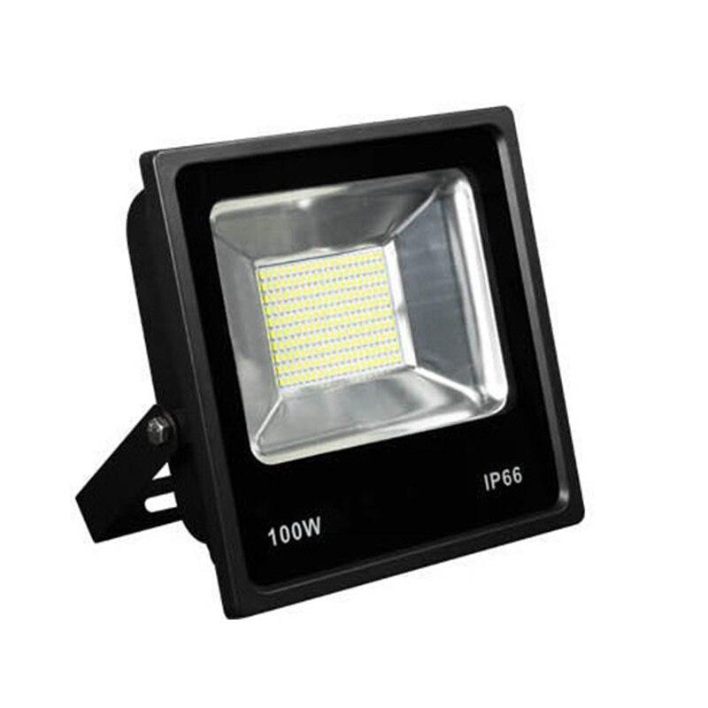 Ultrathin AC220V LED Flood Light 10W 20W 30W 50W 70W 100W Waterproof IP65  Reflector Led Floodlight Garden Spotlight Outdoor Lamp