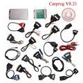 V8.21 Carprog Carprog Completa Versão Mais Recente (Com Todos Os 21 Itens Adaptadores) Professional Programador CAR PROG