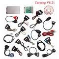 V8.21 la Más Nueva Versión Carprog Carprog (Con Los 21 Adaptadores de Los Artículos) Profesional PROG DEL COCHE DEL Programador