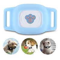 Smart Pet Dog GPS Tracker Finder Wireless Bluetooth GPS Locator Waterproof Kid Anti-lost Alarm MiNi LBS Tracking Track Collar
