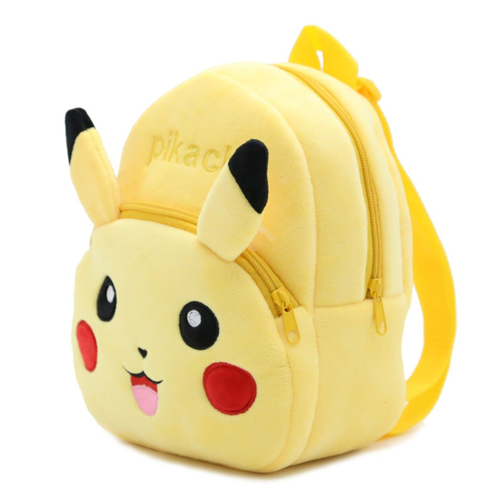 Pokemon - Pikachu Cute Plush Backpack