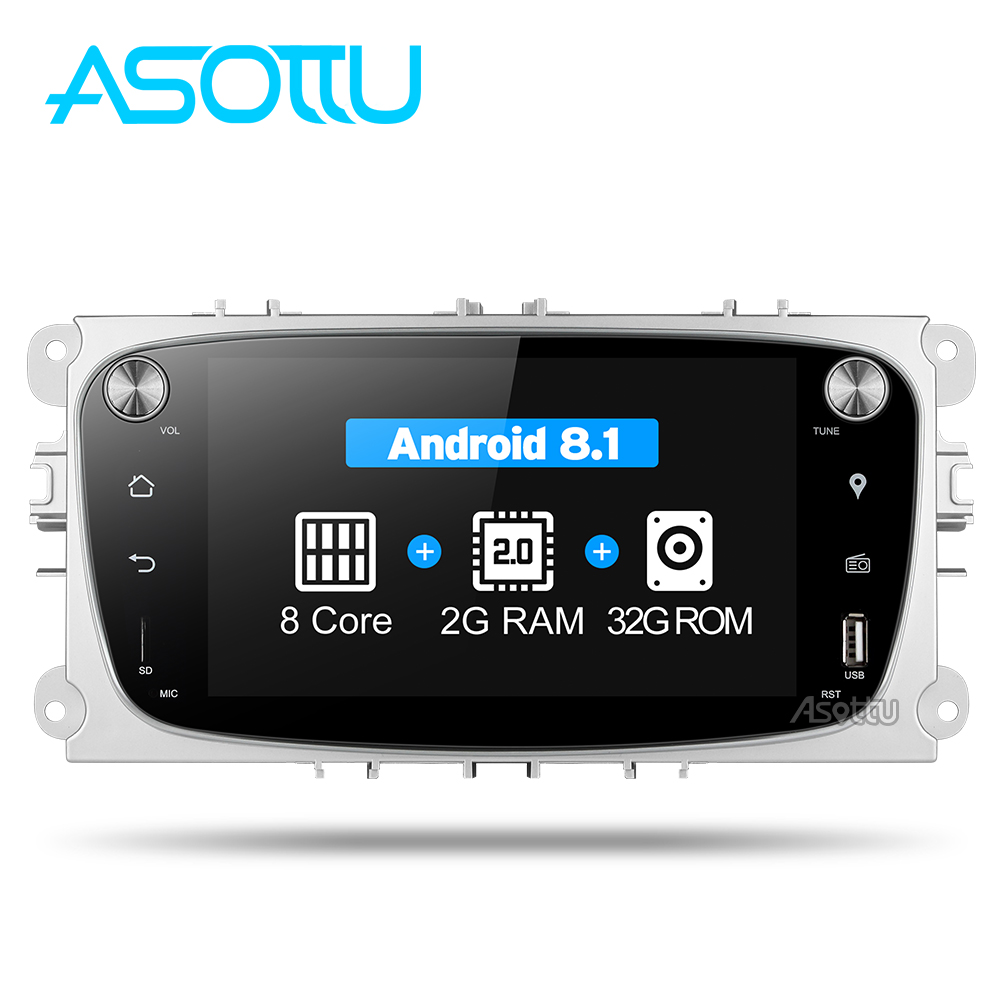 Android 8.1 2din Car DVD Octa core for Ford Mondeo C-max focus galaxy S-max car dvd gps