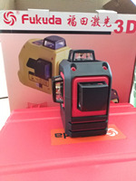 Fukuda 3d Green 12 Lines Laser Level 360 Laser Auto Nivelamento