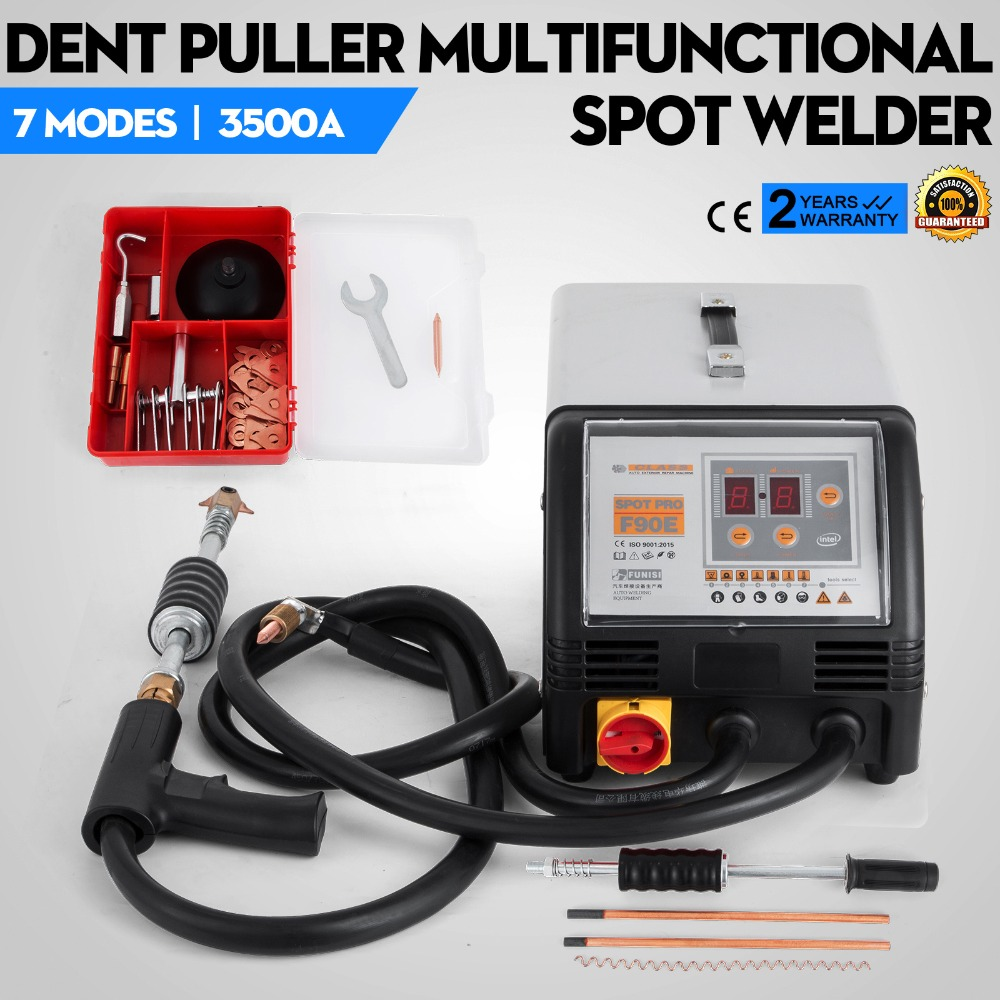 Body Dent Repair Spotter Spot Welder Welding Machine 3500Amp 230V цены