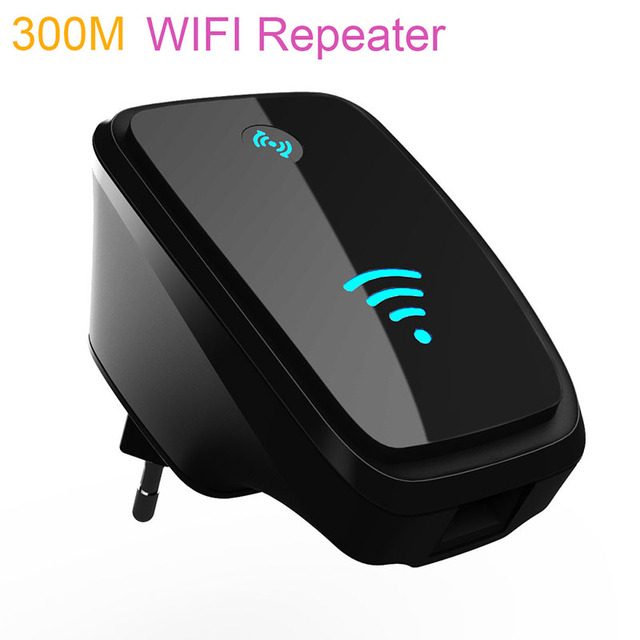 300 Mbps UE/EE.UU./UK Plug Wireless N 802.11n WPS WiFi Del Repetidor de Señal de Red para AP Router Range Expander Booster Amplificador Extender