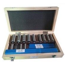 22pcs Keyway Broach Set Bushing Shim Set Metric System 12 30 HSS Keyway Tool knife for CNC Machine