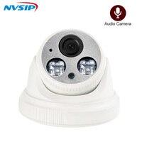 H.265 2.0MP 5MP Audio POE IP Camera Night Vision Indoor Dome camera ONVIF Motion Detection Xmeye IP Cam DC 12V 48V PoE Option