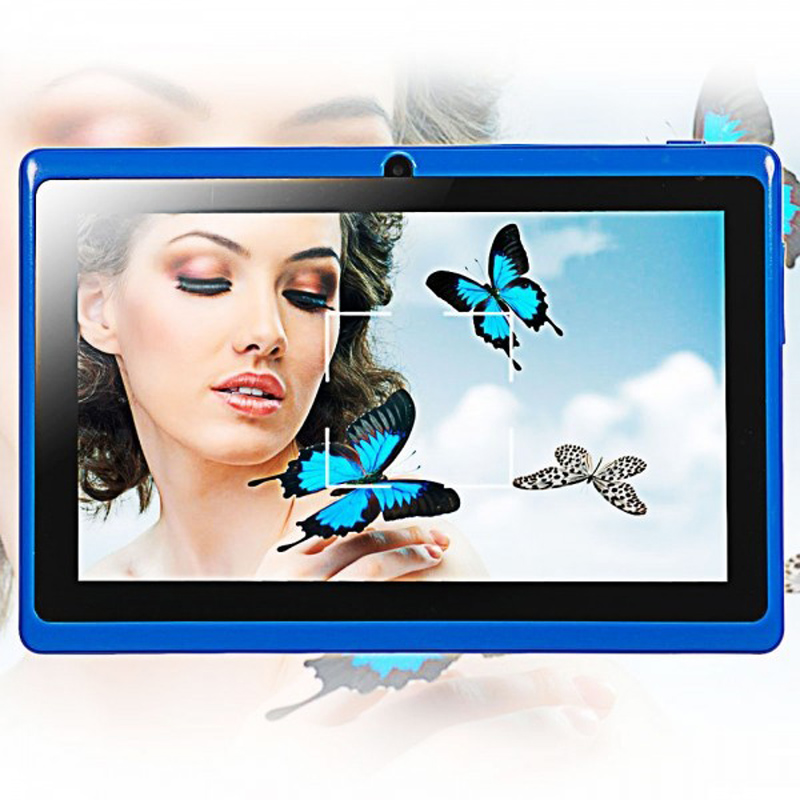 7 Inch Tablet PC Android 4.4 Quad Core 512MB RAM 8GB ROM TF Slot 1024*600 Wifi Bluetooth Tablets PC olut m3 7 0 android 4 1 tablet pc w 512mb ram 4gb rom wi fi tf white