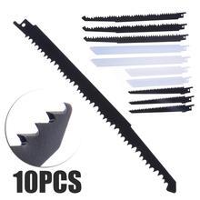 6 pcs Wood Cutting Saw Blades + 4 Metal  Reciprocating Sabre Combo & For Bosch Makita