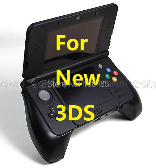 HOTHINK New Controller Hand Grip Handle Joypad Stand Case For Nintendo NEW 3DS NEW3DS 2015