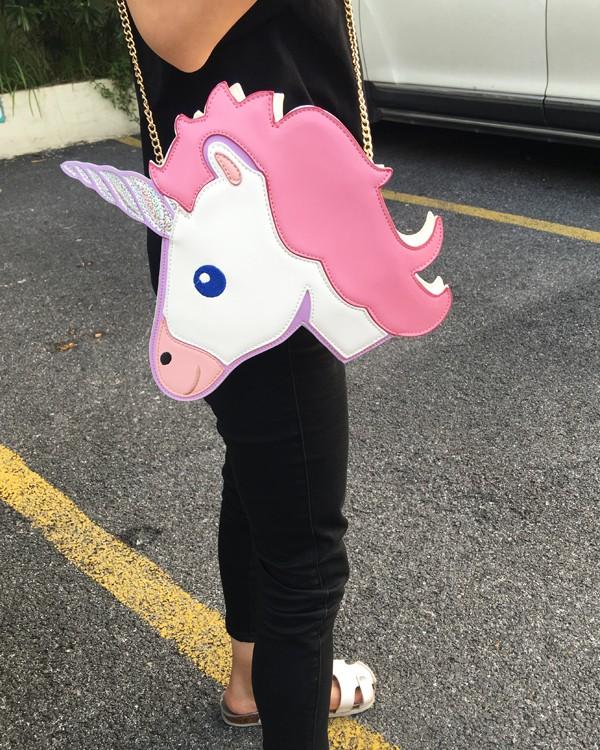 HTB1bzi4LpXXXXcVXXXXq6xXFXXXG - Unicorn Handbag women Shoulder Bag Cute
