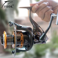 Free Shipping Fishing Equipment 12+1 Ball Bearings fishing Spinning reel 5.2:1 mulinelli pesca trolling reel