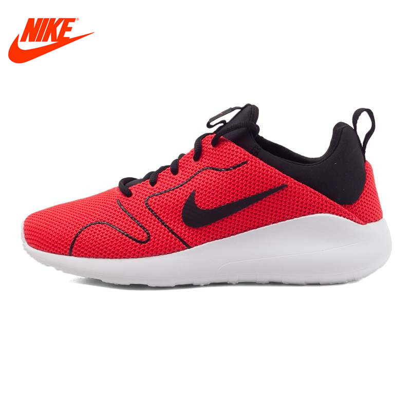 NIKE Original Breathable KAISHI 2.0 SE Men's Running Shoes Sneakers Red and Blue 844838 nike original new arrival mens kaishi 2 0 running shoes breathable quick dry lightweight sneakers for men shoes 833411 876875
