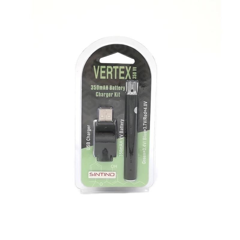 US $18 53 |5PCS Sintind CBD Vertex 350mAh VV Preheat Battery Vape Pen Kit  510 Adjustable Voltage CBD CBD Cartridge for E Cigarette Atomizer-in