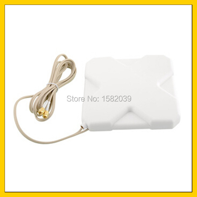 35dBi 4G LTE Double Interface TS9 Antenna Signal Booster Amplifier For 4G   Modem