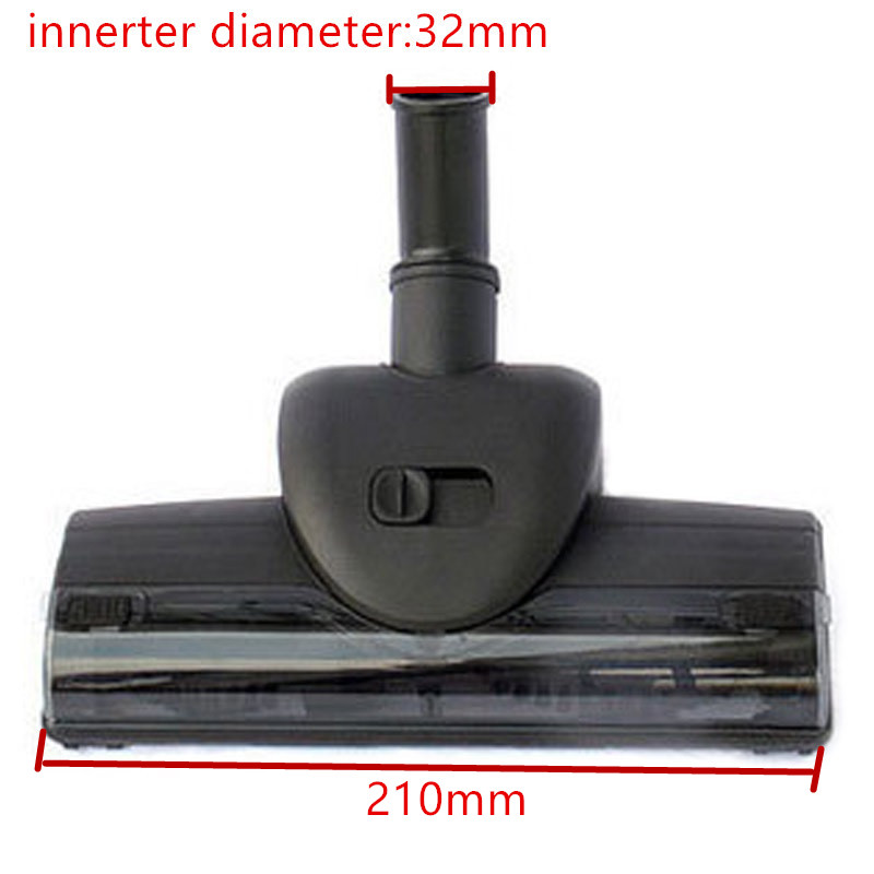innerter 32mm diameter Vacuum cleaner mites Wind-driven brush/Vibration brush Turbo brush ,With soft pulley,Vacuum cleaner part 32mm 35mm diameter vacuum cleaner accessaries plastic turbo floor brush wind transparent cap