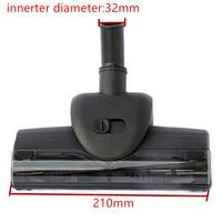 innerter 32mm diameter Vacuum cleaner mites Wind driven brush/Vibration brush Turbo brush ,With soft pulley,Vacuum cleaner part
