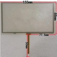 155 * 88 mm táctil digitalizador de pantalla para HSD062IDW1 6.2 pulgadas táctil de DVD del coche