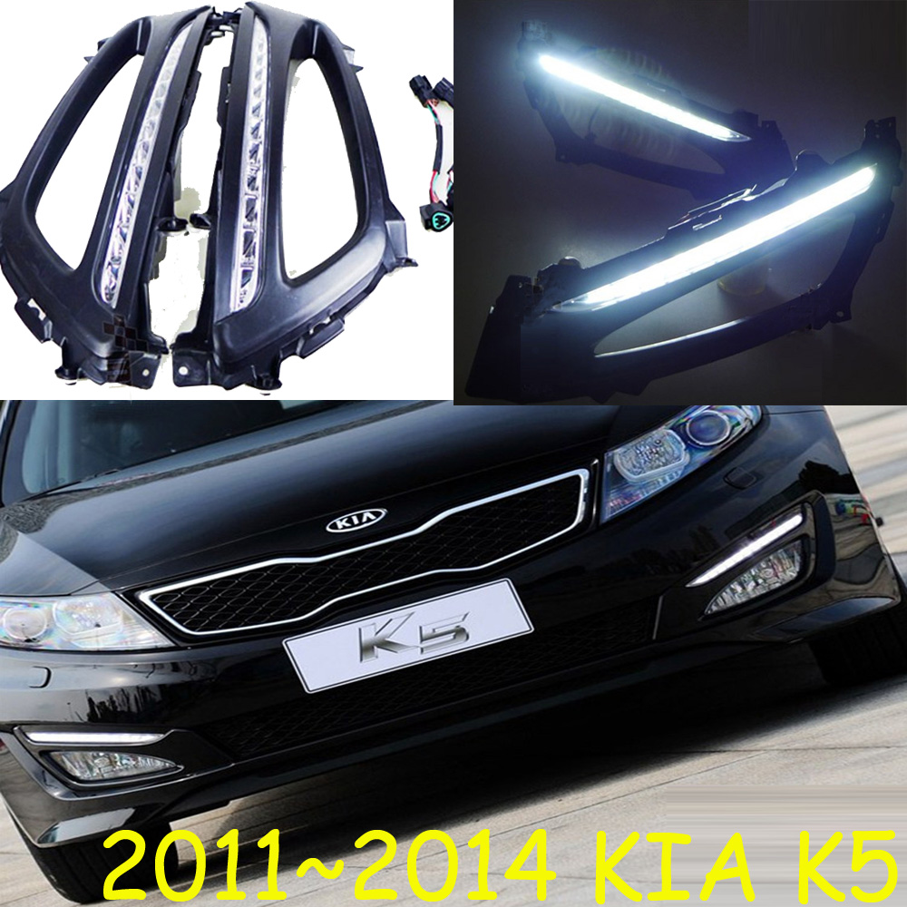 LED,2011~2014 KlA K5 daytime Light,K5 fog light,K5 headlight;soul,spectora,k5,sorento,kx5,Sportage R,K 3 ,Rio,cerato,K 5 hid 2011 2014 car styling kla k5 headlight sportage soul spectora k5 sorento kx5 ceed k5 head lamp cerato k5 head light