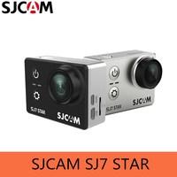 SJCAM sj7 звезда действий Камера 4 К 30fps 2.0 Сенсорный экран удаленного Ultra HD Ambarella a12s75 30 м Водонепроницаемый спортивные камера
