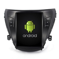 Navirider android 7.1 radio tape recorder 4 Core 32gb ROM tesla vertical screen for Hyundai Elantra 2011 headunits BT