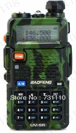 Baofeng UV-5R Dual Band Radio VHF/UHF FM Walkie Talkie 2 Way Radio