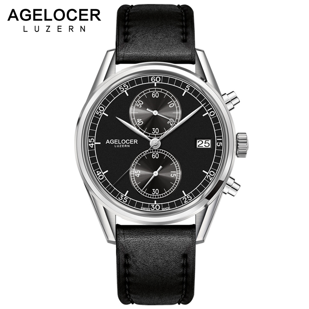 Aliexpress.com : Buy New Silver Bezel Back Leather Band ... |Wrist Watch For Men Leather