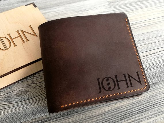 273f05c125fe Personalized names Game of Thrones Mens Wallet Leather Groomsmen husband  Valentine s father s day boyfriend gifts Mens Wallets -in Party Favors from  Home ...