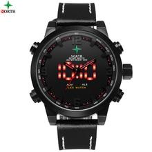 Reloj Hombre Deportes Para Hombre Relojes de Primeras Marcas de Lujo Digital de Reloj de Cuarzo Resistente Al Agua Reloj LED Reloj Digital Reloj de Los Hombres deporte