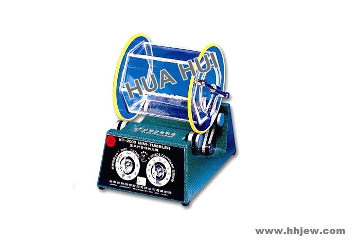 Rotary Tumbler( Mini-Tumbler), HUAHUI Jewelry Tumbling Polishing Machine, Jewelry Polisher Tools & Equipment цена