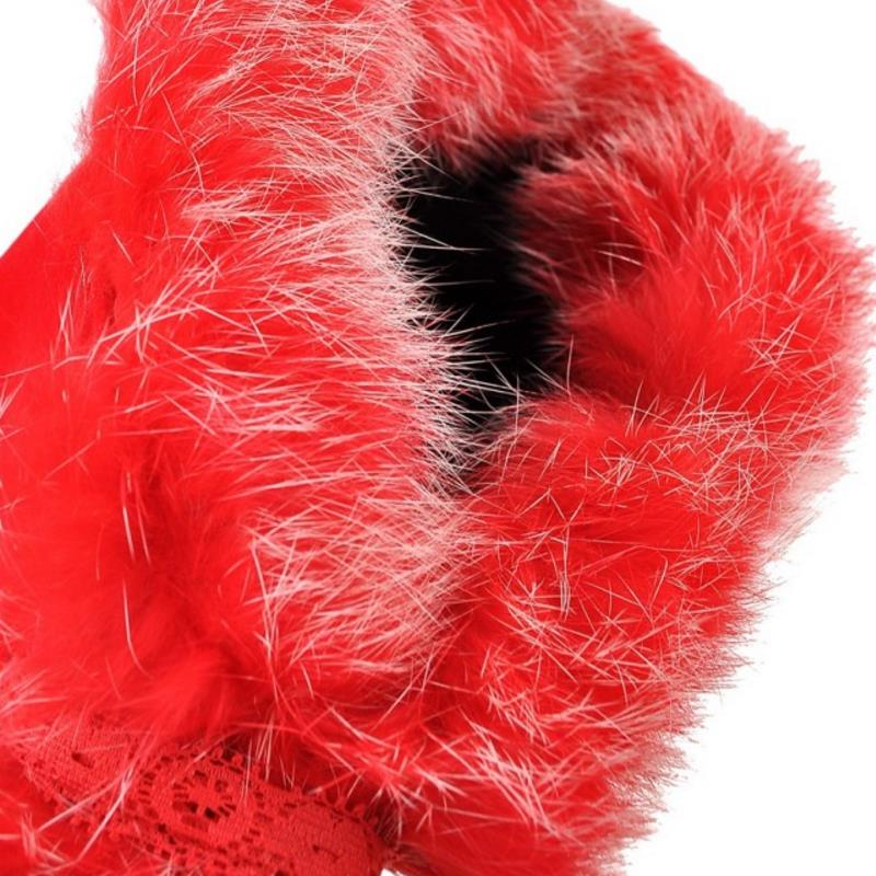 Talons rouge Botas Noir Footwears De Zipper Chaussures Genou Hiver 33 Femmes 43 Taille Long Épais Sur Bottes Fourrure Froid À Fanimila Hauts H8q1TwRxR