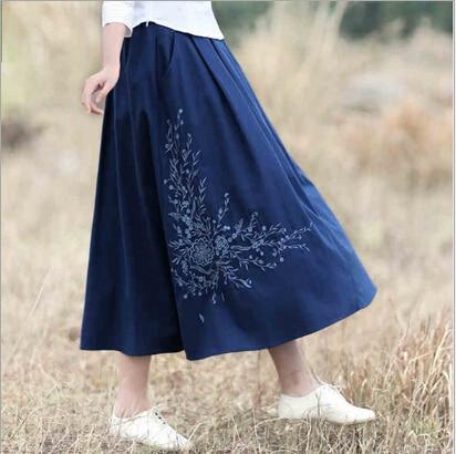 Long Cotton Skirts