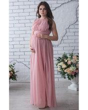 Celebrity vestidos de noche de Color Rosa breve gasa vestidos de noche vestidos de la madre del novio vestidos de noche las mujeres embarazadas