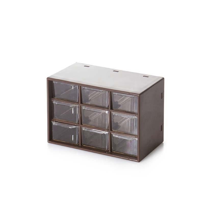 Bizhuteri e llojit sirtar me kuti katrore Transparenca modë që - Magazinimi dhe organizimi në shtëpi - Foto 1