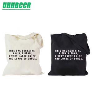 UHHBCCR Tote Bag Cotton Canvas Women Shopping Bags 10c6728290