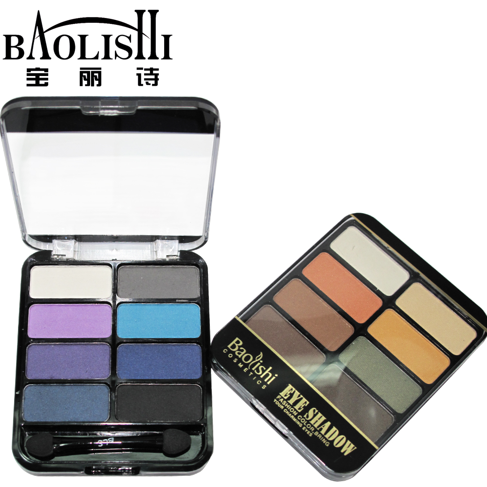 Baolishi Quality Professional 8colors Nude Eyeshadow Palette Matte - Maquillaje