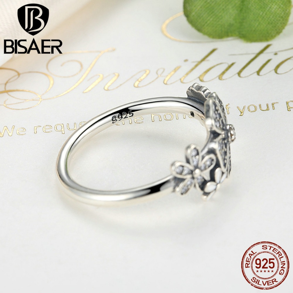 925 Sterling Silver Shimmering Bouquet White Enamel Clear CZ Flower ...